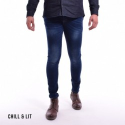 Jeans Homme Skinny Délavage...
