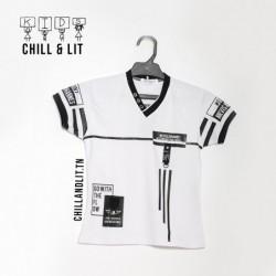 T-Shirt Garçon Graphique Coton