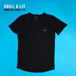 T-Shirt En Coton Motif Flamant
