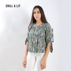 Chemise Tropicale Manches...