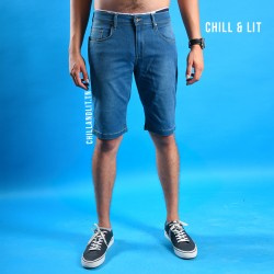 short jean homme simple
