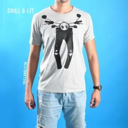 T-Shirt Graphique Homme Coton