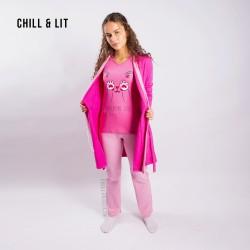 Pyjama 3 Pièces 100% Coton...