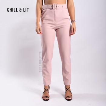 Pantalon Large Taille Haute...