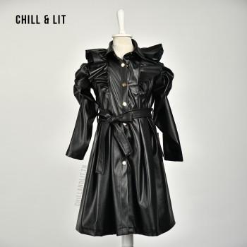 Robe Fillette Mi-Longue En...