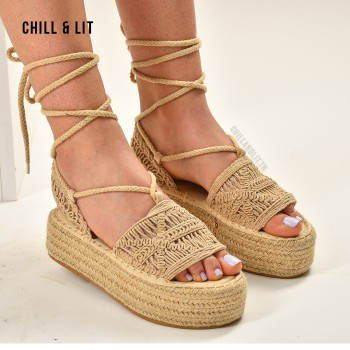 Sandales à Plateforme Halfa