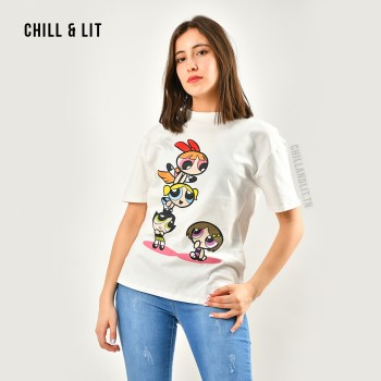 T-shirt En Coton Avec Motif