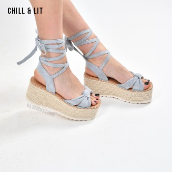 Sandales à Plateforme Halfa...