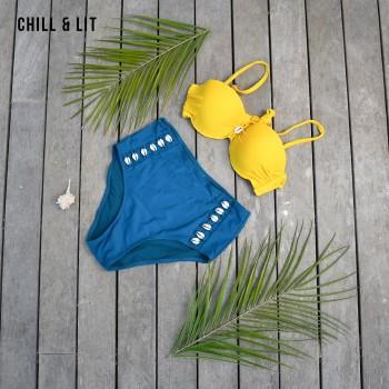 Maillot de Bain Bikini Avec...