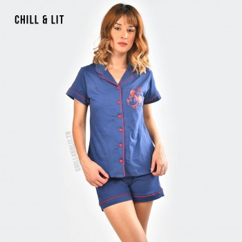 Pyjama Chemise + Mini Short