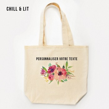 Tote Bag en Toile Peint à...